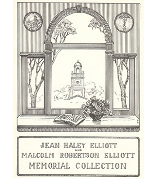Jean Haley Elliott and Malcolm Robertson Elliott Memorial Collection