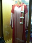 Dr. Kirkconnell's gown